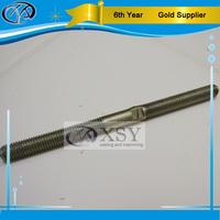 China oem machining anti rust coating steel threaded rod