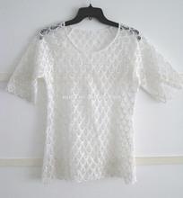 Ladies New Fashion Design Lace Tops