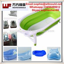 China Taizhou OEM Custom 2014 Newly design baby bathtub mould/baby bathtub plastic mould