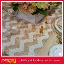 Custom Design tablecloth Wholesale hot fashion elegant wedding party decoration electronic