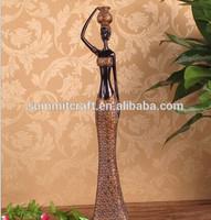 Exotico resina figuras africanas