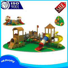 outdoor castle playground entertainment/outdoor playground game toy