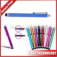 2014 hot selling custom capacitive stylus touch pen,metal promotional pen ,custom logo