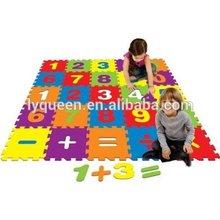 Best Brands Numbers 4' X 4' Interactive Activity Floor Mat