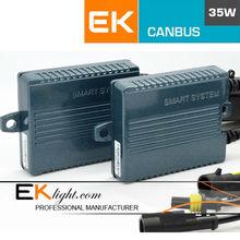 EK 2014 new designed ASIC smart canbus xenon hid kit & mini hid bi xenon projector lens