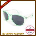 Óculos de sol logotipo personalizado plástico e metal, 2014 vogue UV 400 óculos de sol, Baratos por atacado óculos de sol F5190