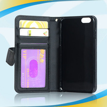 factory price leather for iphone 6 hybrid studded diamond case
