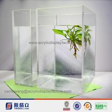grass & water big limpid acrylic aquarium fish tank