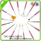 Pink Nail Art Design Brush Set