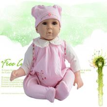 O logotipo dos clientes de silicone bebê reborn bonecas para os preços de venda, linda boneca bebês, boneca de marca