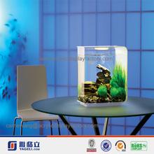 grass & stone design 5mm or custom mini square acrylic fish tank