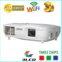 Hot sale digital 3LCD 3LED 5000 Lumens mini projector hdmi led/chinese av video projector 5000 lumens