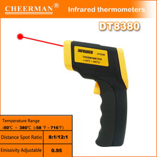 Chinese best factory DT-8380 infrared thermometer accuracy with high quality