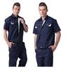 Short Sleeve Men Summer Engineering Uniform Workwear Industrial Uniform