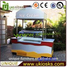 unique newly supply cream push cart ice cream/ ice cream cart/ soft ice cream