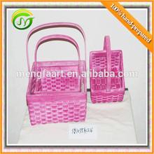 hot selling wicker/woodchip basket