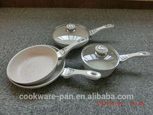 Popular marble coating non-stick cookware set / non-stick set