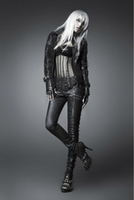 China supplier gothic steampunk latest design jeans pants with competitive price K-170