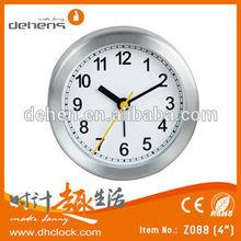 4 inch mini desktop clock for promotion