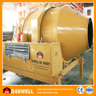 Indian high capacity moveable self loading small diesel concrete mixer