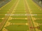 Arabic style wool felt mosque prayer carpets