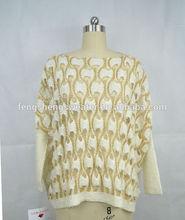 Fashion Design Knit 100 Acrylic Sweater