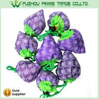 unique design reusable fruit folding shopping bag
