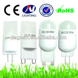 Superbright big g4 led light 2.5W with high quality