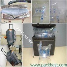 great stuffing air cushion for trolley bag / distortion resistant polythylene air cushion bag for trolley bag