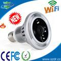 H317- el más nuevo de la lámpara bombilla vivienda h. 264 la tarjeta del tf oculta cámara cctv de seguridad para el hogar sistema de cámara