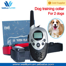 Remote training LED rechargeable waterproof beeper dog collar pets accessories