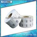 Best seller! Etiqueta adesiva RFID chip para logística de rastreamento