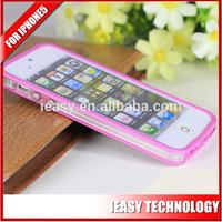 New Transparent optical Plastic for iphone5 tpu pc case