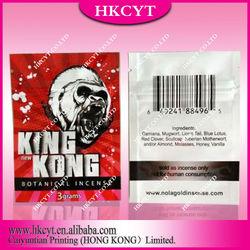 King Kong Herbal Incense Bags,King Kong Spice Bags 3G , 10G