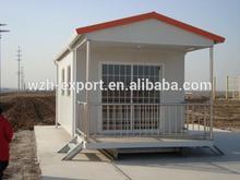 Luce a buon mercato case mobili in acciaio/case prefabbricate made in cina