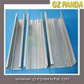 亜鉛めっき鋼プロファイルシートスチールスタッドとランナー