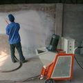 cimento máquina de gesso para parede sp50