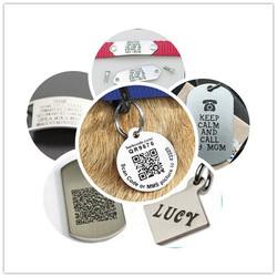 beautiful titanium name tag dog tags personalized