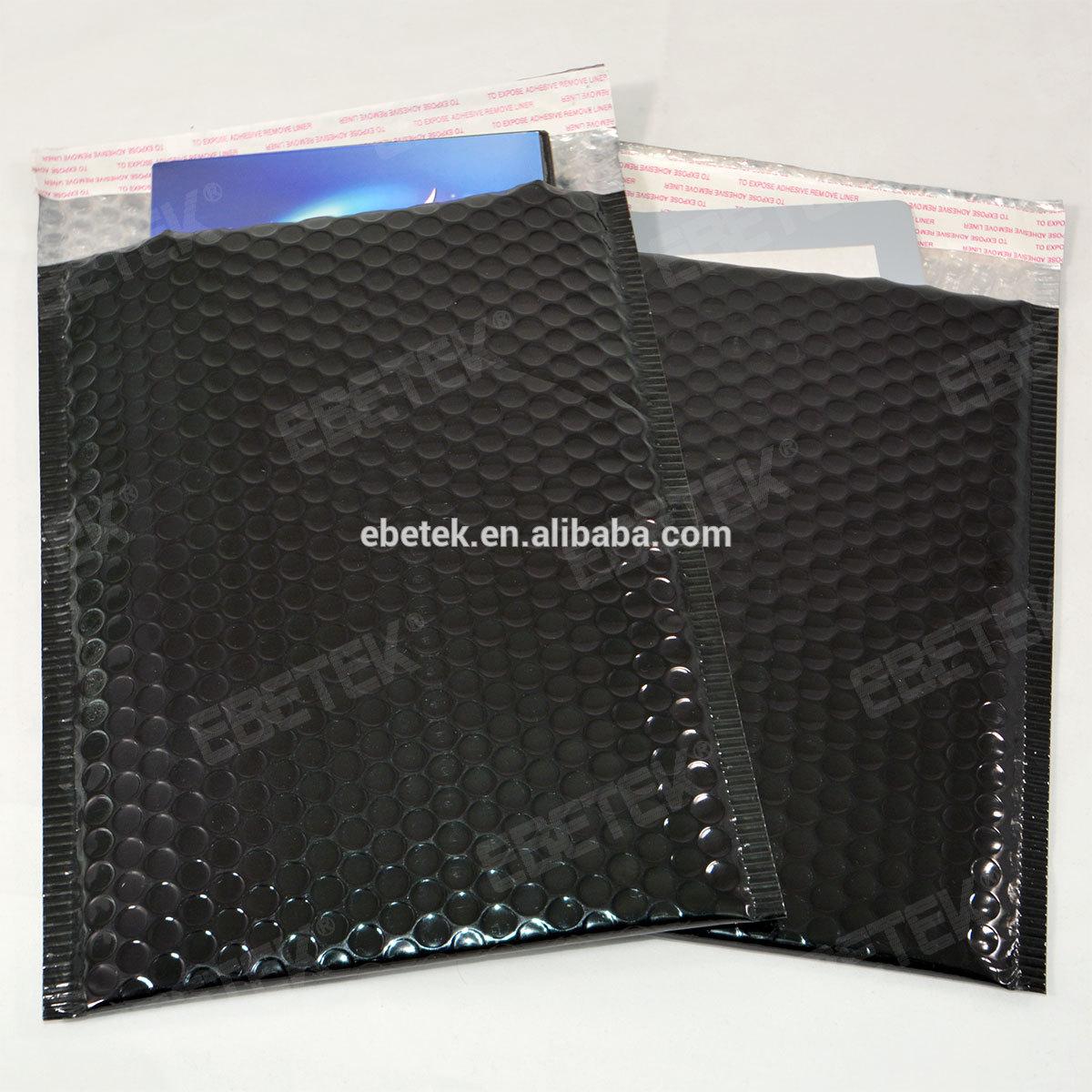 Black Bubble Wrap Black Metallic Bubble-wrap