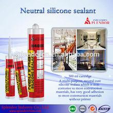 Silicone Sealant/ neutral silicone sealant/ splendor construction glass silicone sealant/ roofing silicone sealant