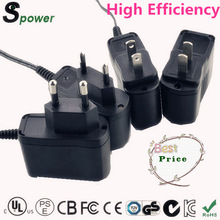 AC input:100-240Vac to dc 12v1a switching type cctv camera wall plug adapter with complete certification