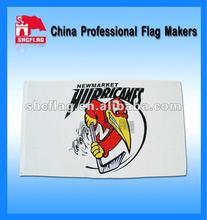 custom polyester promo flag banners 4 gromet