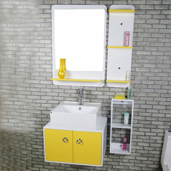 Yellow Water Resistant Bathroom Cabinet Buy Yellow
