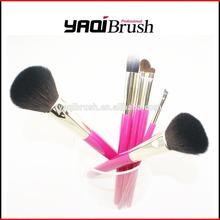6pcs Natural Hair Makeup Brush Set