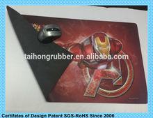 Rubber anti-skidding usb hub light mouse pad