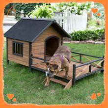 Luxury Durable China Custom Made Dog House With Balcony