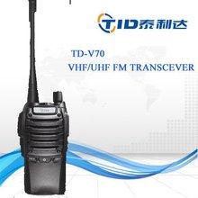 TD-V70 New Black Walkie Talkie programming data line
