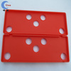 2014 Customized Red Silicone Rubber Accessories