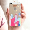 Prompt response hole leather cover for iphone 5c