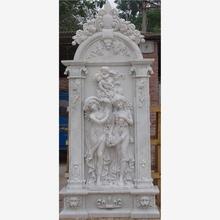 Exterior garden decoration stone marble horse head sculpture